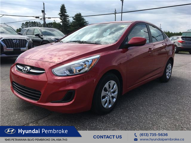2016 Hyundai Accent SE (Stk: 19357A) in Pembroke - Image 1 of 25