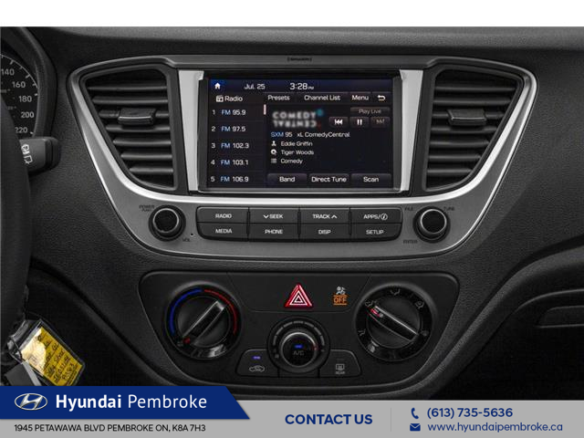 2020 Hyundai Accent Essential w/Comfort Package (Stk: 20034) in Pembroke - Image 7 of 9