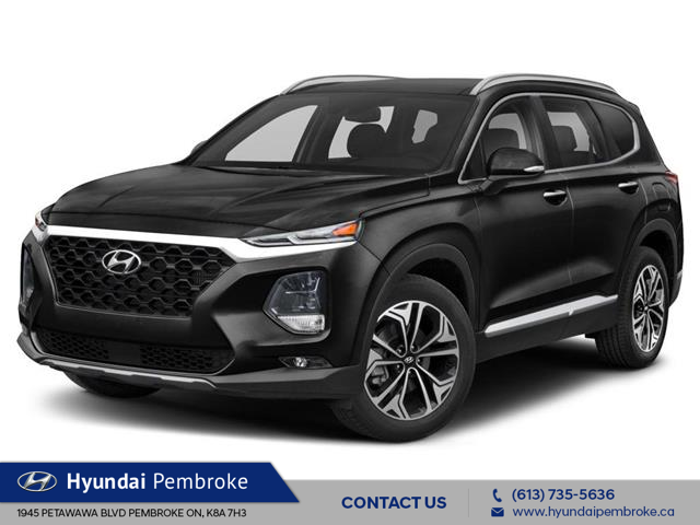 2020 Hyundai Santa Fe Ultimate 2.0 (Stk: 20050) in Pembroke - Image 1 of 9