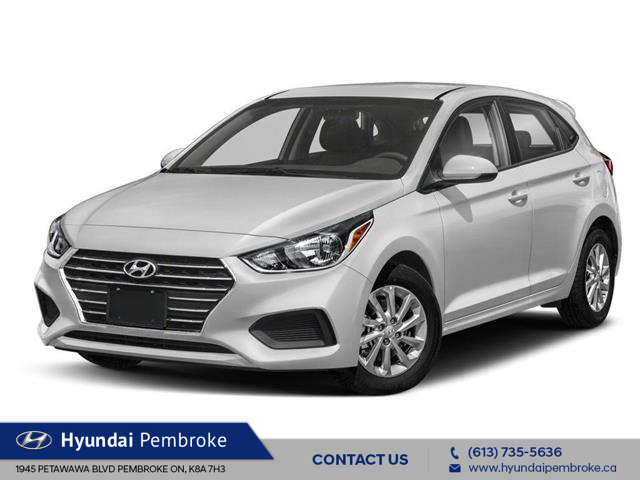 2020 Hyundai Accent Essential w/Comfort Package (Stk: 20048) in Pembroke - Image 1 of 9