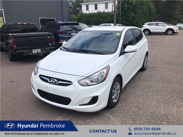 2013 Hyundai Accent GL (Stk: 19272B) in Pembroke - Image 1 of 9