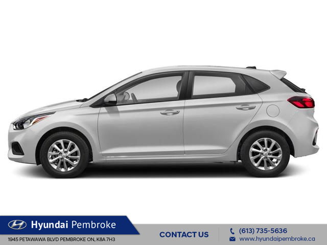 2020 Hyundai Accent Essential w/Comfort Package (Stk: 20071) in Pembroke - Image 2 of 9