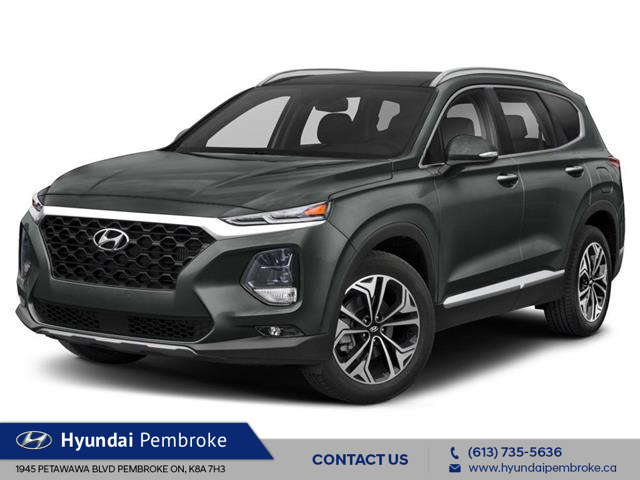 2020 Hyundai Santa Fe Ultimate 2.0 (Stk: 20093) in Pembroke - Image 1 of 9