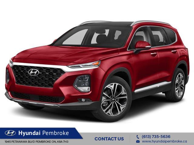 2019 Hyundai Santa Fe Ultimate 2.0 (Stk: 19513) in Pembroke - Image 1 of 9