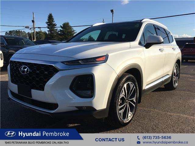 2019 Hyundai Santa Fe Ultimate 2.0 (Stk: 20074A) in Pembroke - Image 1 of 30