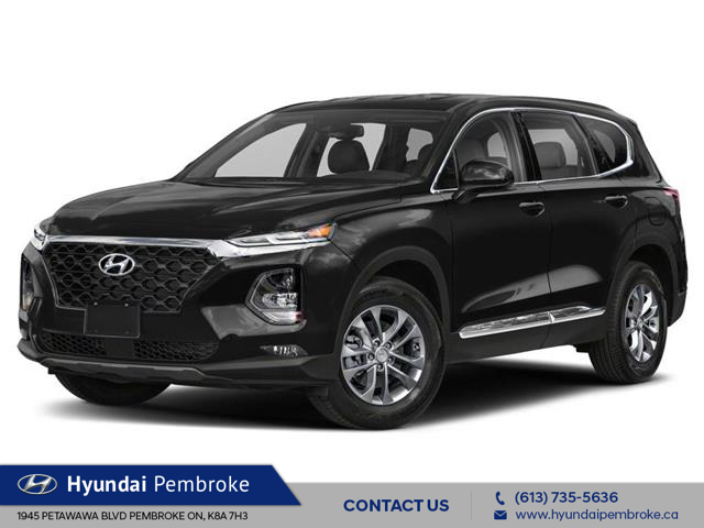 2020 Hyundai Santa Fe Essential 2.4 w/Safey Package (Stk: 20092) in Pembroke - Image 1 of 9