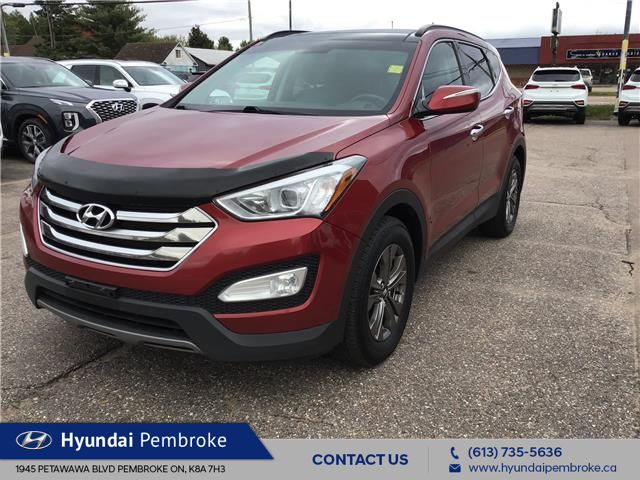 2015 Hyundai Santa Fe Sport 2.4 Luxury (Stk: 19224A) in Pembroke - Image 1 of 28