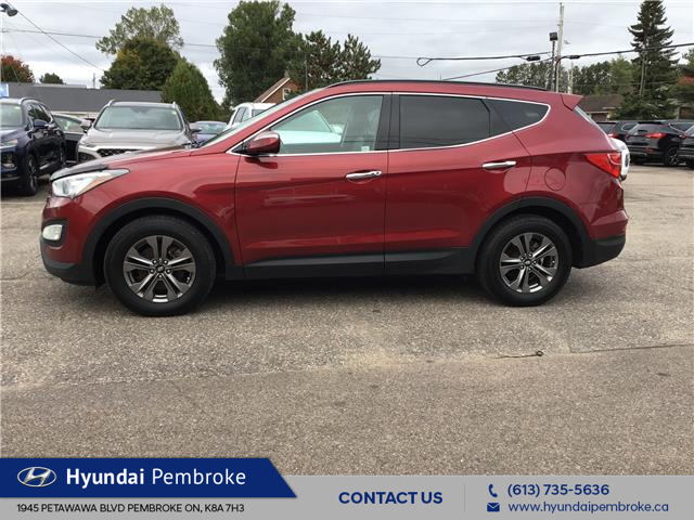 2015 Hyundai Santa Fe Sport 2.4 Luxury (Stk: 19224A) in Pembroke - Image 2 of 28