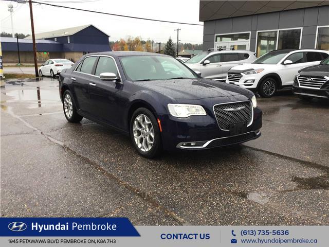 2017 Chrysler 300 C Platinum (Stk: 20112A) in Pembroke - Image 1 of 27