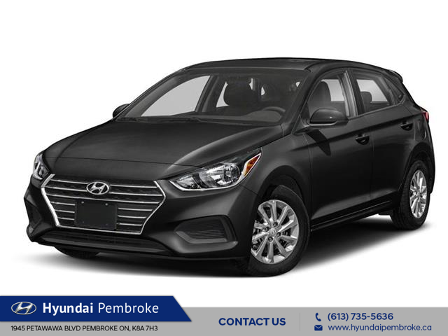 2020 Hyundai Accent Preferred (Stk: 20153) in Pembroke - Image 1 of 9