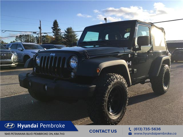 2015 Jeep Wrangler Sport (Stk: 19444A) in Pembroke - Image 1 of 19