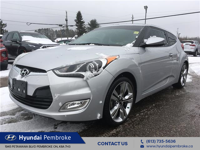 2015 Hyundai Veloster Tech (Stk: 20168A) in Pembroke - Image 1 of 27