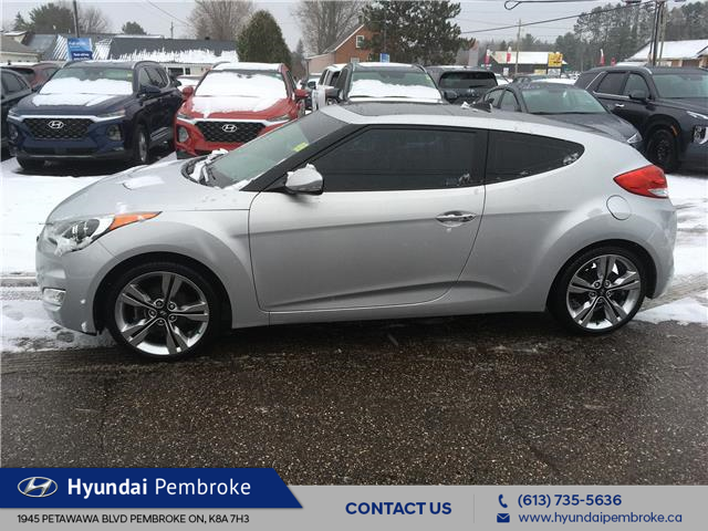 2015 Hyundai Veloster Tech (Stk: 20168A) in Pembroke - Image 2 of 27
