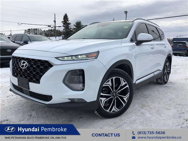 2019 Hyundai Santa Fe Ultimate 2.0 (Stk: 20191A) in Pembroke - Image 1 of 30