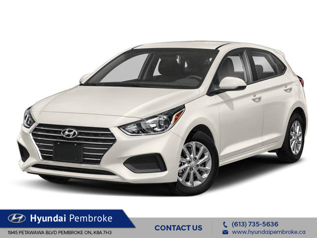 2020 Hyundai Accent Preferred (Stk: 20199) in Pembroke - Image 1 of 9