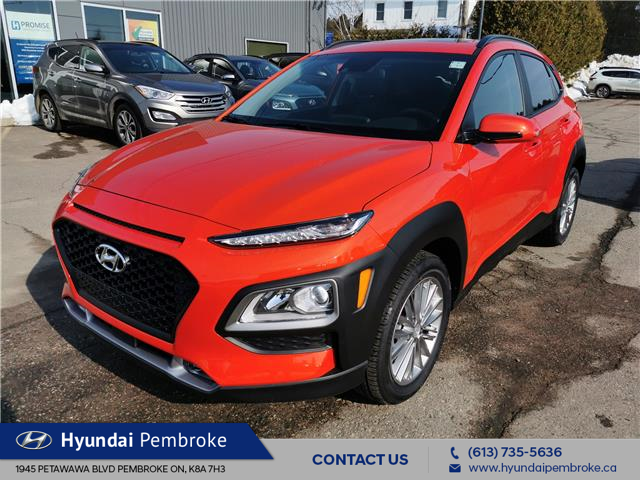 2020 Hyundai Kona 2.0L Luxury (Stk: 20257) in Pembroke - Image 1 of 27