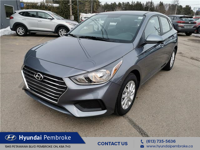 2020 Hyundai Accent Preferred (Stk: 20143) in Pembroke - Image 1 of 22