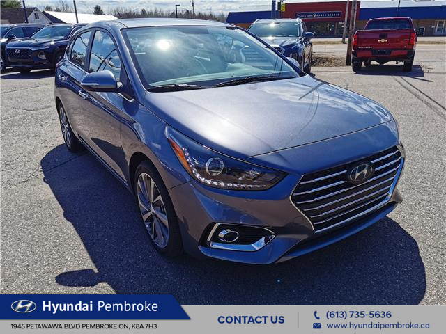 2020 Hyundai Accent Ultimate (Stk: 20149) in Pembroke - Image 1 of 20