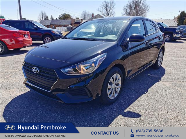 2020 Hyundai Accent Essential w/Comfort Package (Stk: 20280) in Pembroke - Image 1 of 23