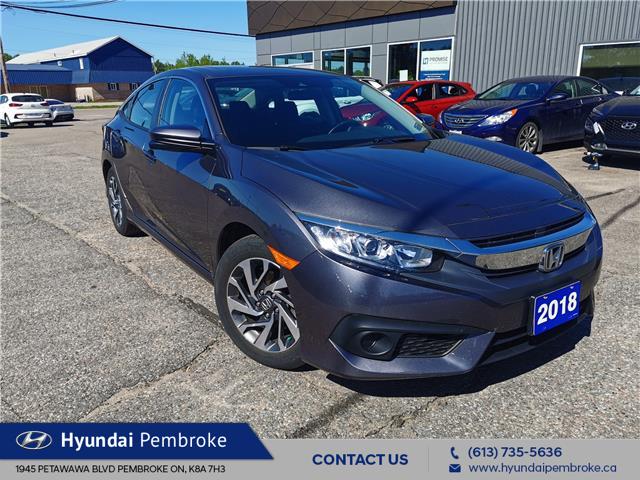 2018 Honda Civic EX (Stk: 20365A) in Pembroke - Image 1 of 23