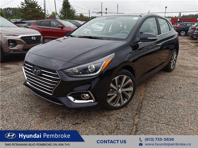 2020 Hyundai Accent Ultimate (Stk: 20317) in Pembroke - Image 1 of 24