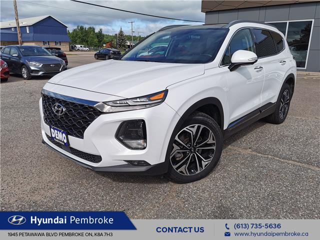 2020 Hyundai Santa Fe Ultimate 2.0 (Stk: P392) in Pembroke - Image 1 of 28