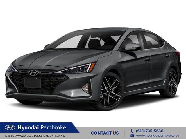 2020 Hyundai Elantra Sport (Stk: 20466) in Pembroke - Image 1 of 9