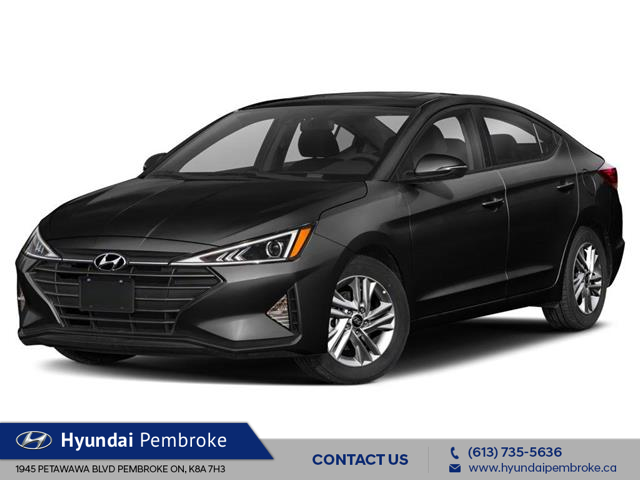 2020 Hyundai Elantra Luxury (Stk: 20481) in Pembroke - Image 1 of 9
