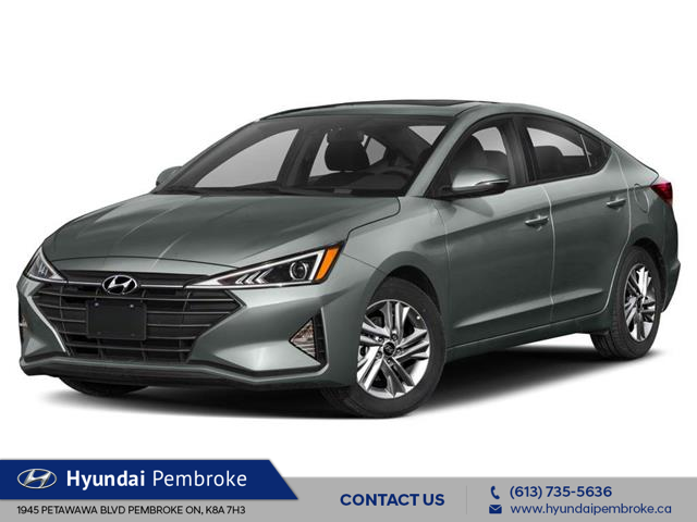 2020 Hyundai Elantra Luxury (Stk: 20506) in Pembroke - Image 1 of 9