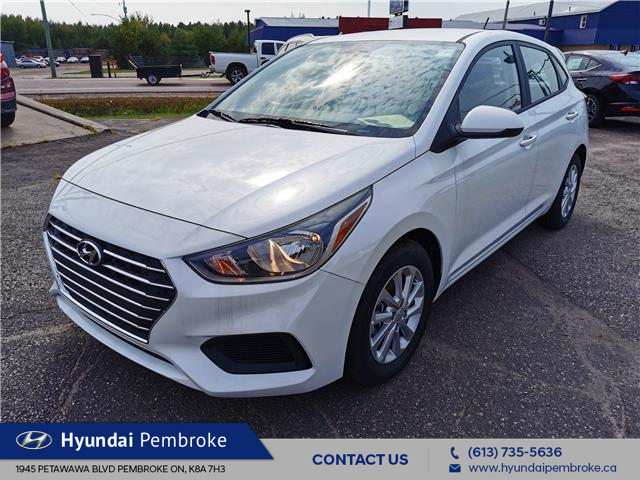 2020 Hyundai Accent Preferred (Stk: 20316) in Pembroke - Image 1 of 25