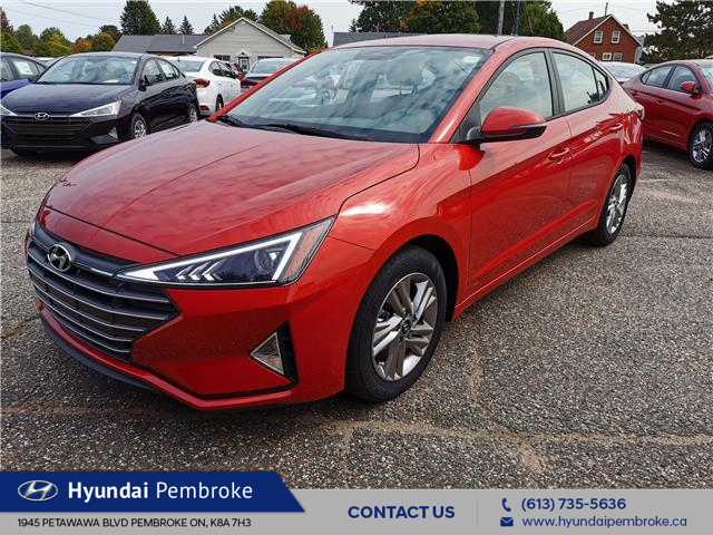 2020 Hyundai Elantra Preferred (Stk: 20513) in Pembroke - Image 1 of 37