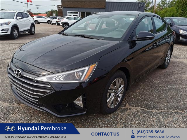 2020 Hyundai Elantra Preferred w/Sun & Safety Package (Stk: 20500) in Pembroke - Image 1 of 28