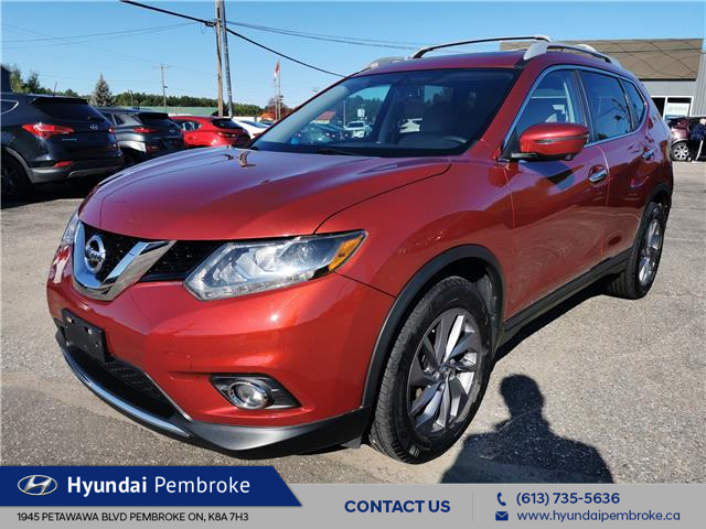 2016 Nissan Rogue SL Premium (Stk: 20518B) in Pembroke - Image 1 of 24