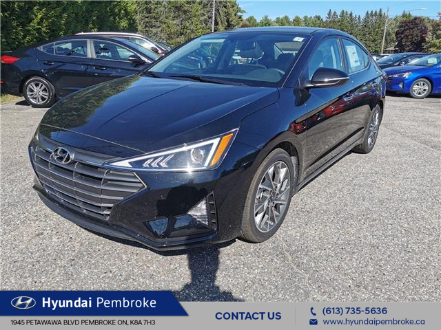 2020 Hyundai Elantra Luxury (Stk: 20490) in Pembroke - Image 1 of 27