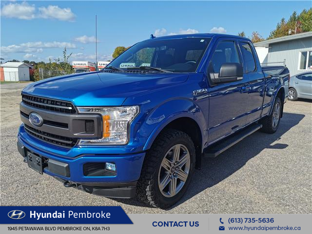 2018 Ford F-150 XLT (Stk: 20595A) in Pembroke - Image 1 of 30