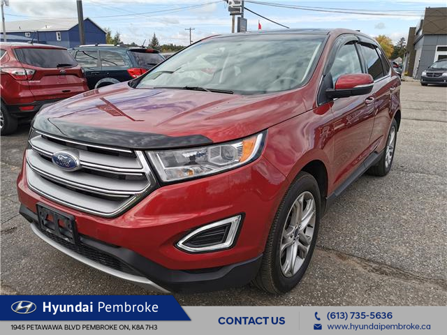 2016 Ford Edge Titanium (Stk: 20578A) in Pembroke - Image 1 of 29