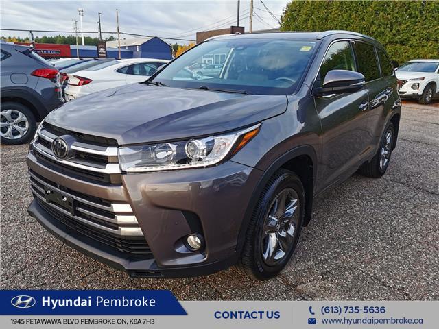 2018 Toyota Highlander Limited (Stk: 21051A) in Pembroke - Image 1 of 28