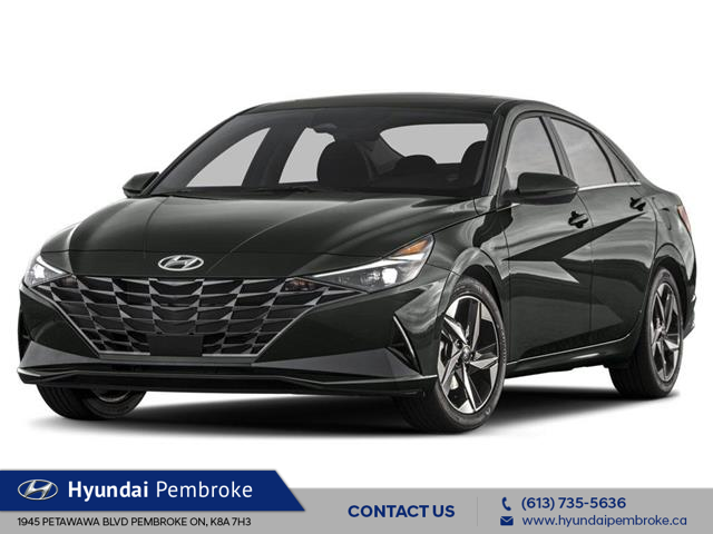 2021 Hyundai Elantra Preferred w/Sun & Safety Package (Stk: 21095) in Pembroke - Image 1 of 3
