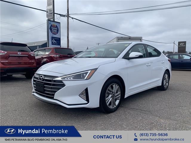 2020 Hyundai Elantra Preferred (Stk: P413) in Pembroke - Image 1 of 25