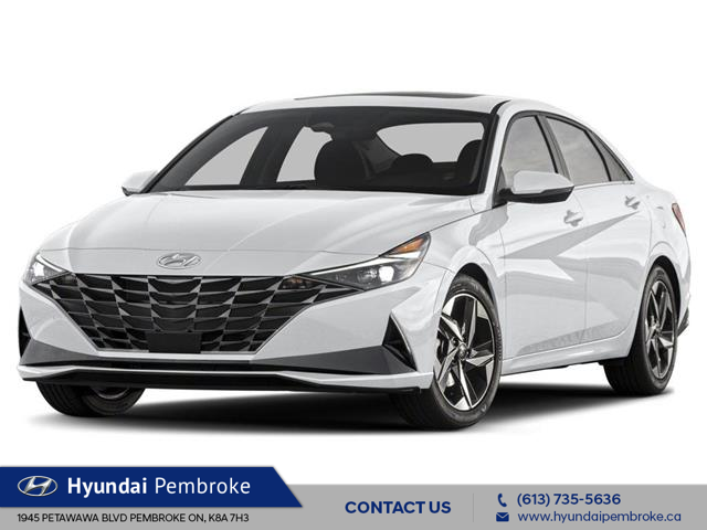 2021 Hyundai Elantra Ultimate w/Black Seats (Stk: 21168) in Pembroke - Image 1 of 3
