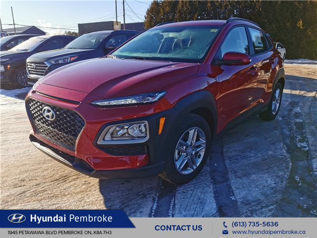2021 Hyundai Kona 2.0L Essential (Stk: 21110) in Pembroke - Image 1 of 22