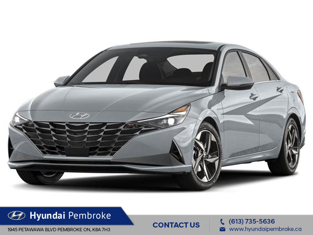 2021 Hyundai Elantra Ultimate w/Black Seats (Stk: 21178) in Pembroke - Image 1 of 3