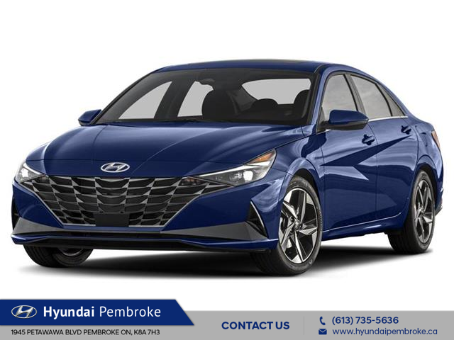 2021 Hyundai Elantra Preferred (Stk: 21179) in Pembroke - Image 1 of 3