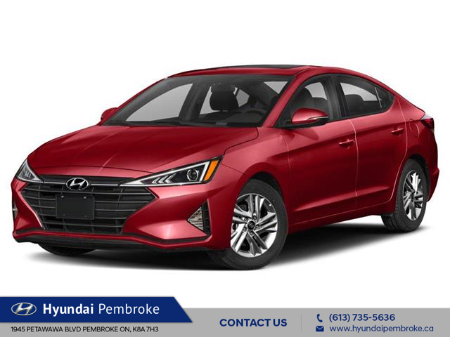 2020 Hyundai Elantra Preferred (Stk: 20559) in Pembroke - Image 1 of 9