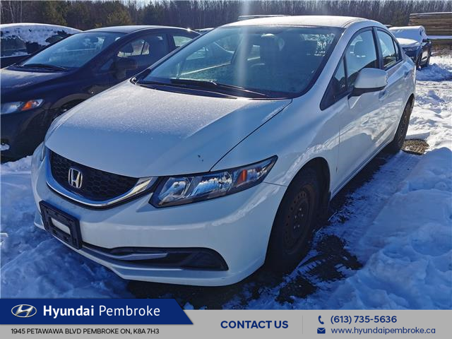 2013 Honda Civic LX (Stk: 21190A) in Pembroke - Image 1 of 1