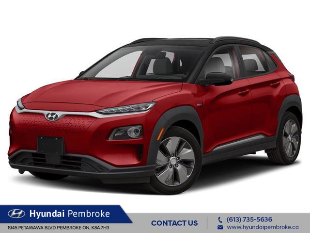 2021 Hyundai Kona EV Ultimate (Stk: 21196) in Pembroke - Image 1 of 9