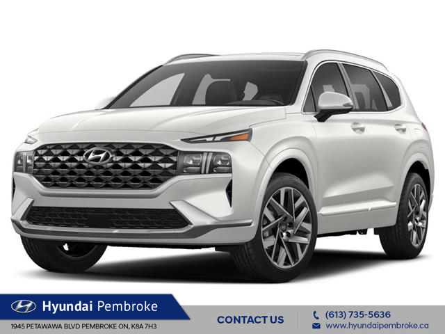 2021 Hyundai Santa Fe Ultimate Calligraphy (Stk: 21137) in Pembroke - Image 1 of 2