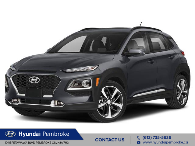 2021 Hyundai Kona 1.6T Ultimate (Stk: 21224) in Pembroke - Image 1 of 9