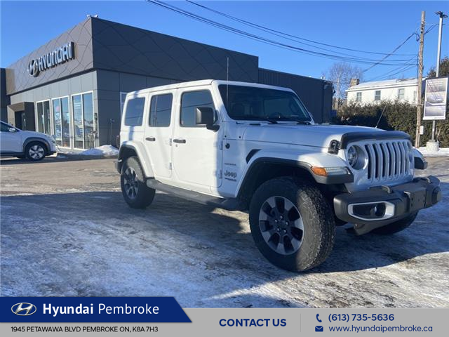 2018 Jeep Wrangler Unlimited Sahara (Stk: 21091A) in Pembroke - Image 1 of 25