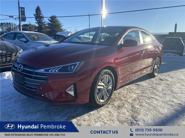 2020 Hyundai Elantra Preferred w/Sun & Safety Package (Stk: 20520) in Pembroke - Image 1 of 13